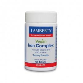 Lamberts Vegan Iron Complex 120 tabs