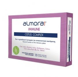 Almora Plus Immune Cistus Complex Συμπλήρωμα Διατροφής για την Ενίσχυση του Ανοσοποιητικού 15 Φυτικές Κάψουλες