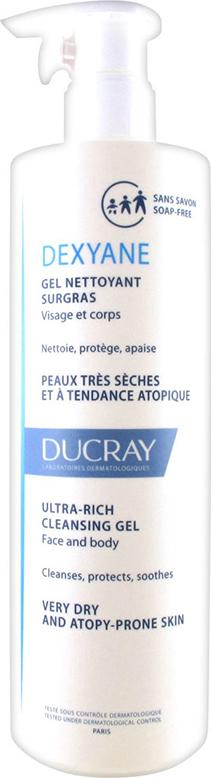 Ducray Dexyane Gel Nettoyant Surgras 400ml