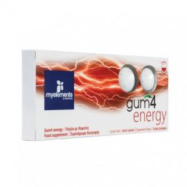 My Elements Gum 4 Energy Συμπλήρωμα Διατροφής σε μορφή τσίχλας 10τμχ.