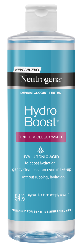 Neutrogena Hydro Boost Micellar Water, Νερό Καθαρισμού για το πρόσωπο 400ml