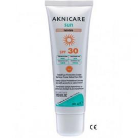 SYNCHROLINE AKNICARE SUN  TEINTEE SPF30 50ML