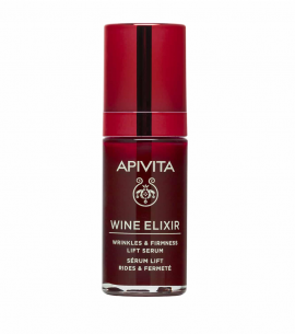 Apivita Wine Elixir Wrinkle & Firmness Lift Serum Αντιρυτιδικός Ορός για Σύσφιξη & Lifting 30ml
