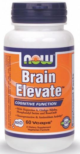 Now Foods Brain Elevate 60 Veget.caps