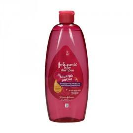 Johnsons Baby Shiny Drops Σαμπουάν για Λαμπερά Μαλλιά 500ml