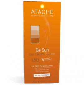 Atache Be Sun Gel Cream Color SPF50+ Oil Free 50ml