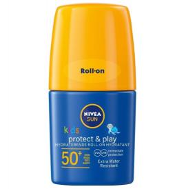 NIVEA SUN  Kids Roll-On SPF 50+, 50ml