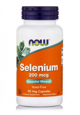 Now Foods Selenium 200mcg 90 Veget.caps
