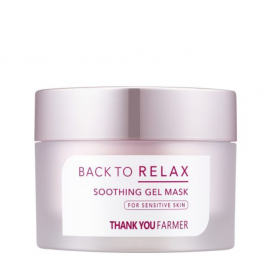 Thank You Farmer Back to Relax Soothing Gel Mask 100ml