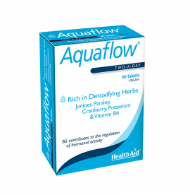 HEALTH AID AQUAFLOW™ VEGETARIAN TABLETS 60S -BLISTER