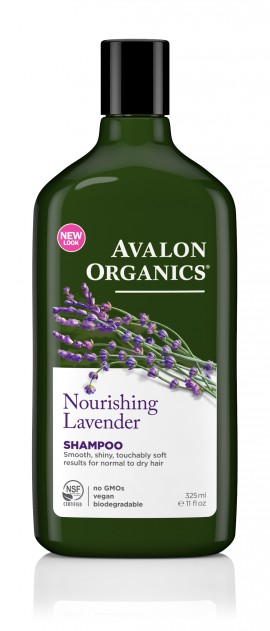 Avalon Organics Nourishing Shampoo Lavender 325ml