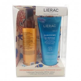 Lierac Set Sunissime Lait Protecteur Anti-Age Global SPF50 100ml & Lierac Sunissime Lait Anti-Age Global Apres Soleil 100ml