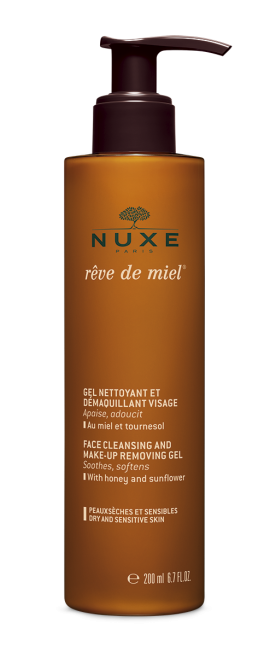 NUXE REVE DE MIEL GEL NETTOYANT-DEMAQUILLANT 200ML