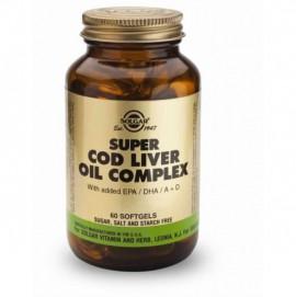 SOLGAR SUPER COD LIVER OIL COMPLEX 60TAB