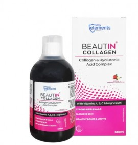 MyElements Beautin Collagen & Hyaluronic With Vitamins A,B,C & Magnesium 500ml