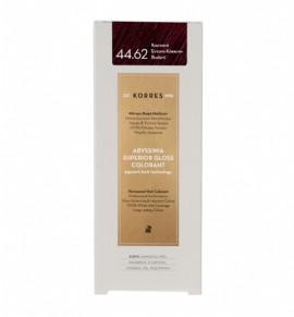 KORRES Abyssinia Superior Gloss Colorant 44.62 Καστανό Έντονο Κόκκινο - Βιολετί 50ml