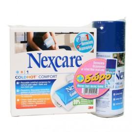 3M Nexcare ColdHot Comfort + Δώρο Nexcare Coldhot Cold Spray 150
