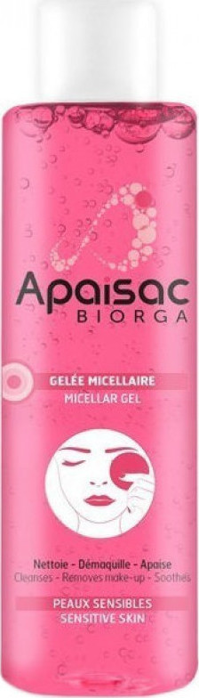 Biorga Apaisac Micellar Gel 200ml Γαλάκτωμα Καθαρισμού