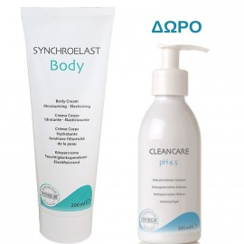 Synchroline Set Synchroelast Body Cream 200ml + Δώρο Synchroline Cleancare Intimo 200ml