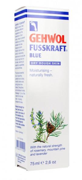 GEHWOL FUSSKRAFT BLUE 75ml Φροντίδα του σκληρού,ξηρού και άγριου δέρματος των ποδιών