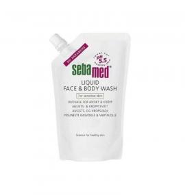 Sebamed Liquid Wash Face & Body Refill 400ml
