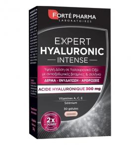 Forte Pharma Expert Hyaluronic Intense Συμπλήρωμα Διατροφής Υψηλής Δόσης Υαλουρονικού Οξέως για Δέρμα & Αρθρώσεις 30caps