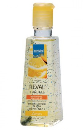 Intermed Reval Plus Lemon Antiseptic Hand Gel 100ml