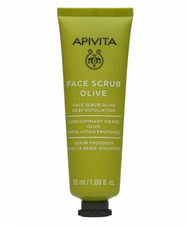 APIVITA Face Scrub with Olive (Deep Exfoliating) 50ml
