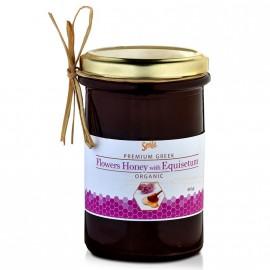 Am Health Smile Flowers Honey With Equisetum Βιολογικό Μέλι Ανθέων με Πολυκόμπι 410gr