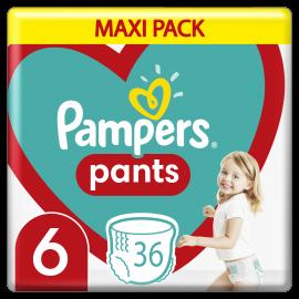 Pampers Pants No.6 (15+Kg) 36 Πάνες Βρακάκι