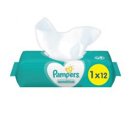 Pampers Sensitive Μωρομάντηλα 12τμχ