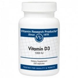 VRP Vitamin D3 1000IU 250caps