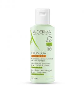 Aderma Exomega Control 2in1 Emollient Cleansing Gel 200ml