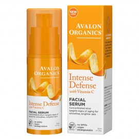 Avalon Organics Facial Serum Intense Defence with Vitamin C 30ml