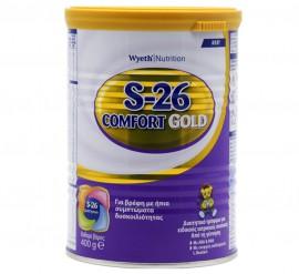 Wyeth S-26 Gold Comfort Διαιτητικό Τρόφιμο Από τη Γέννηση 400gr