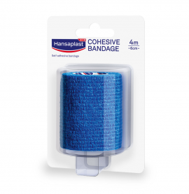 Hansaplast Cohesive Bandage Αυτοκόλλητος Επίδεσμος 4m x 6cm 1τμχ