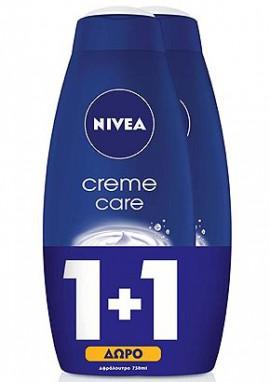 NΙVΕΑ Shower Creme Care 250ml 1+1ΔΩΡΟ