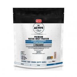 Lanes The Active Club Premium Native Whey Protein για την Αύξηση & Διατήρηση της Μυϊκής Μάζας με Γεύση Σοκολάτα 750gr