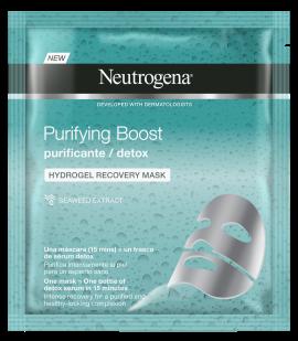Neutrogena Purifying Boost The Detoxifier Hydrogel Μάσκα Προσώπου Αναδόμησης 30ml