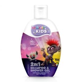 Magic Kids Girls 2in1 Shampoo & Shower Gel Trolls Barb 500ml