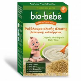 Bio-Bebe Ρυζάλευρο Ολικής Αλεσης Βιολογικής Καλλιέργειας 4+ Μηνών 200gr