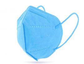 Μάσκα Υψηλής Προστασίας FFP2 ΚΝ95 Γαλάζια 20τμχ