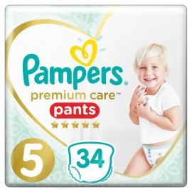 Pampers Premium Care Πάνες Μέγεθος No.5 (12-17kg) 34 Πάνες