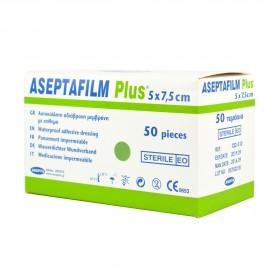 ASEPTA ASEPTAFILM PLUS Επιθέματα διαφανή αυτοκόλλητα απορροφητικά (φιλμ) 50τμχ.