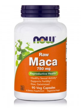 Now Foods Maca Raw 750mg 90Vcaps