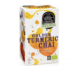 Am Health Royal Green Herbal Infusion Golden Turmeric Chai 16 φακελάκια
