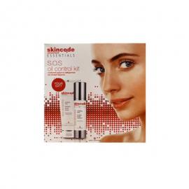 Skincode Essentials S.O.S Oil Control Mattifying Lotion 50ml & ΔΩΡΟ Skincode Essentials S.O.S Oil Control Clarifying Wash 125ml
