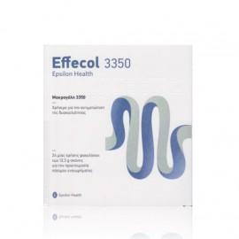 Epsilon Health Effecol 3350 24 φακελίσκοι των 13,3gr