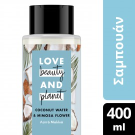 Love Beauty and Planet  ΣΑΜΠΟΥΑΝ COCONUT ΛΕΠΤΑ 400ML
