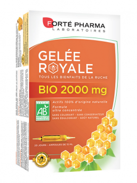 Forte Pharma Gelee Royale Bio 2000mg 20amp x 15ml